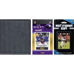 NFL Minnesota Vikings Licensed 2014 Score Team Set And Playe