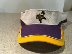 NFL Minnesota Vikings Reebok Mesh Visor