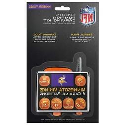 NFL Minnesota Vikings Pumpkin Carving Kit
