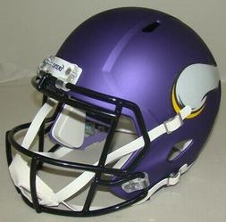 NFL Minnesota Vikings Riddell Full Size Replica Speed Helmet