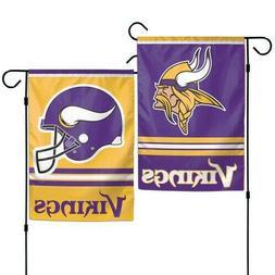"""NFL Minnesota Vikings WCR08373013 Garden Flag, 11"""" x 15"""""""