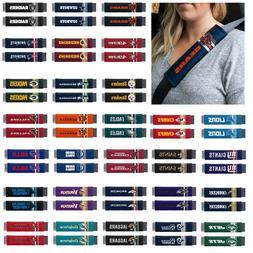 NFL Teams -  Set of 2 Rally Design Premium Seat Belt Shoulde