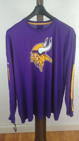 Nike Minnesota Vikings Logo Men's Dri-FIT Long Sleeve T-Shi