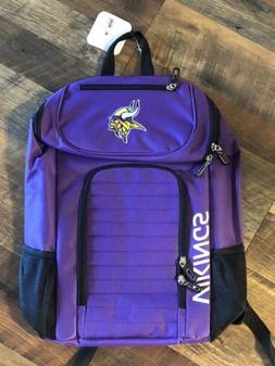 NWT Purple Minnesota Vikings Football NorthWest Backpack BRA