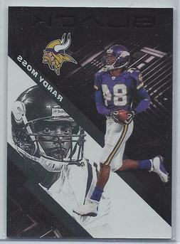 Randy Moss Minnesota Vikings  2020 Panini Black Base Card #6