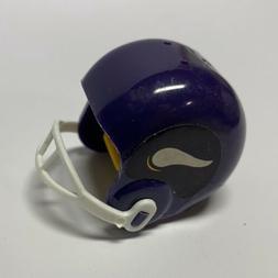 RARE MINNESOTA VIKINGS 1980's NFL COLLECTIBLE MINI HELMET PE