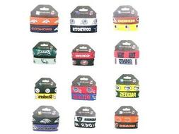 Silicone Bracelet Wristband NFL Official Licensed 2 pack All
