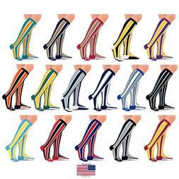 Go2 Team Sports Compression Socks for Men & Women 15-20 mmHg