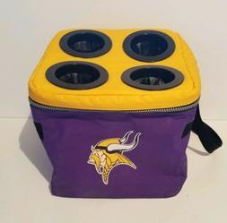 Vintage Minnesota Vikings Halftime Lunch Cooler Soft Sided H